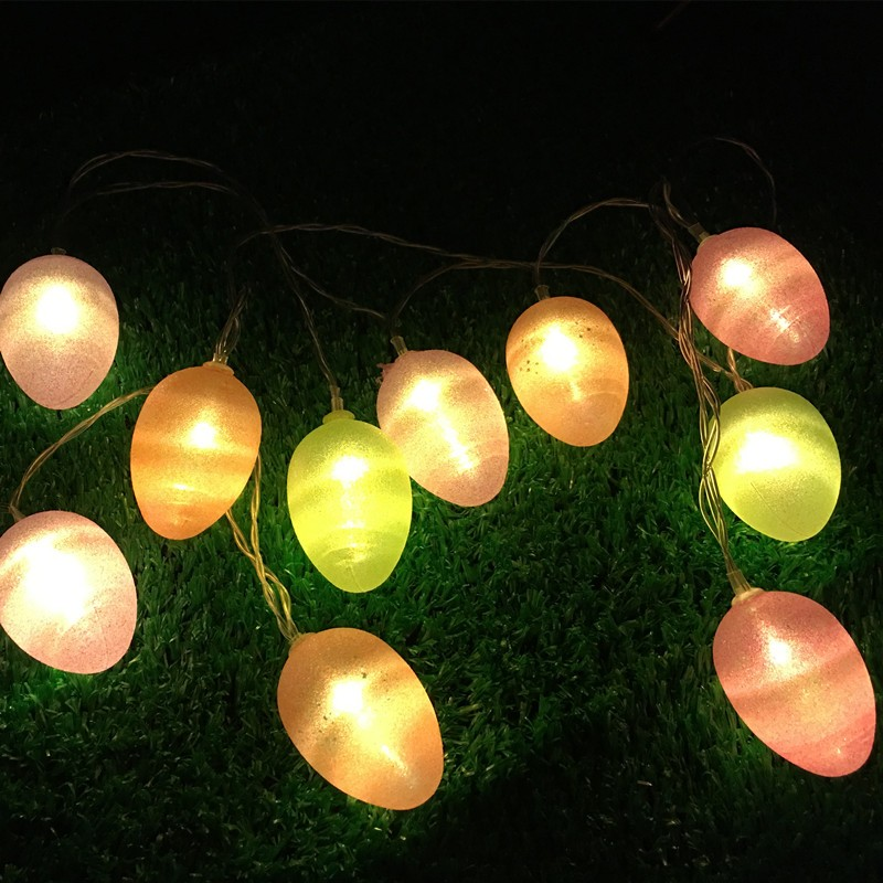 EASTER eggs string lights battery operated